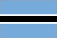 Botswana National Flag