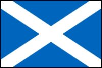 Scotland National Flag